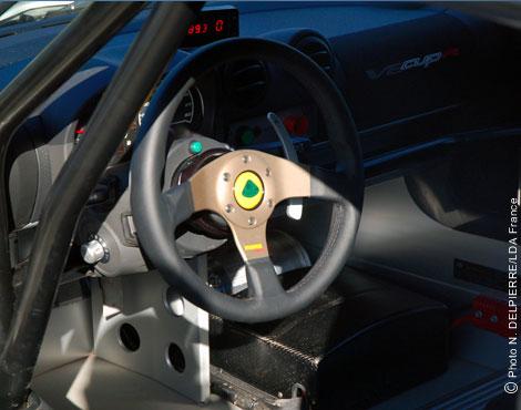 Spark Motorsport Exige Cockpit