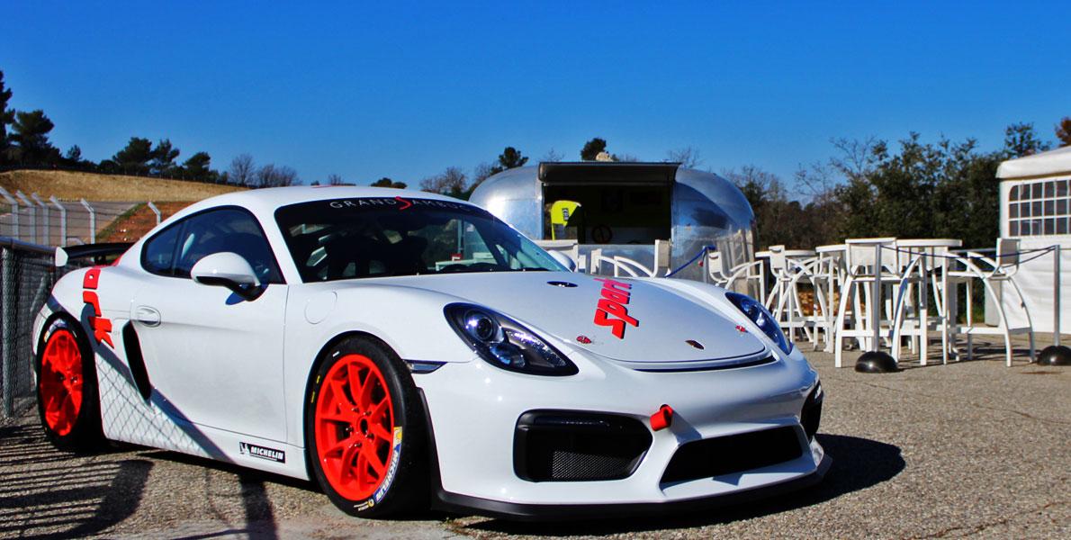 Stage de pilotage Spark - Porsche GT4 - Nos atouts